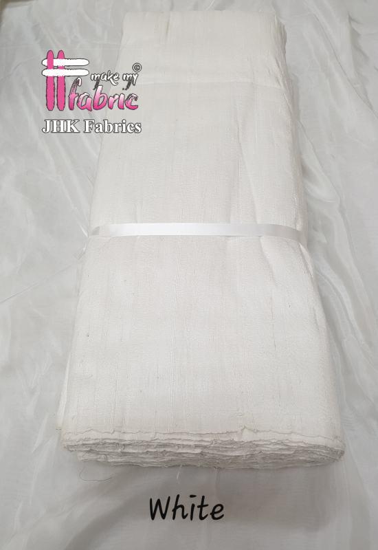 White  Rawsilk