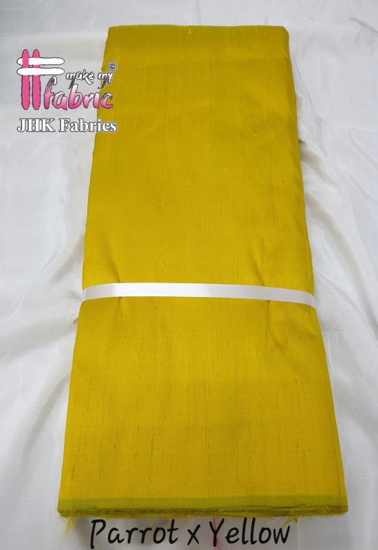 Parrot X Yellow Rawsilk